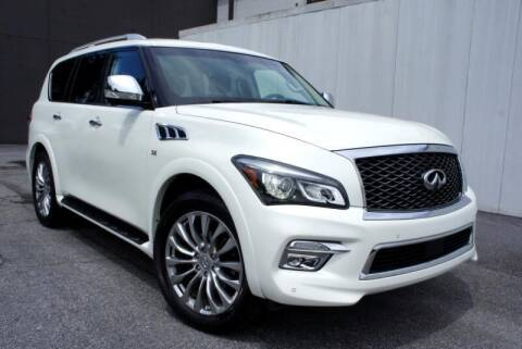 2016 Infiniti QX80 for sale at CU Carfinders in Norcross GA