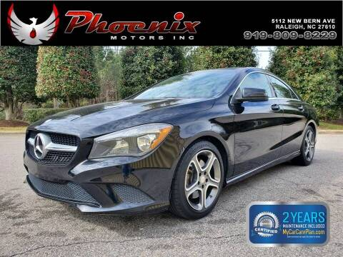 2014 Mercedes-Benz CLA for sale at Phoenix Motors Inc in Raleigh NC