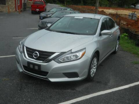 2016 Nissan Altima for sale at THE TRAIN AUTO SALES & LEASING in Mauldin SC