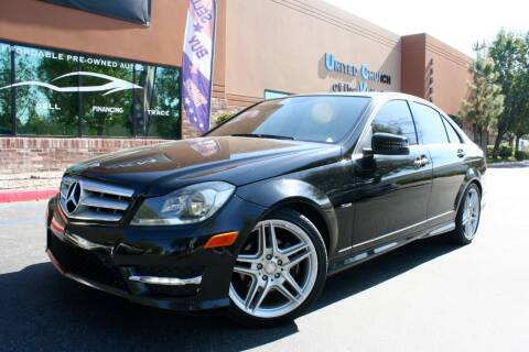 2012 Mercedes-Benz C-Class for sale at CK Motors in Murrieta CA