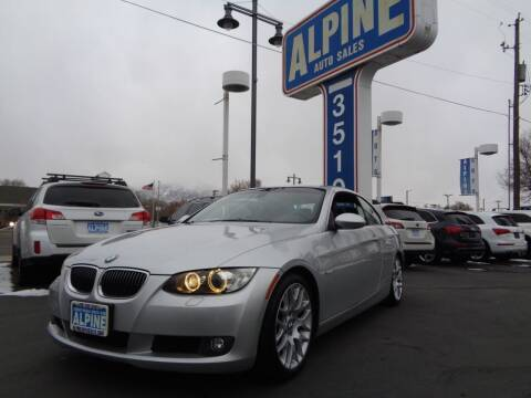 2009 BMW 3 Series for sale at Alpine Auto Sales in Salt Lake City UT