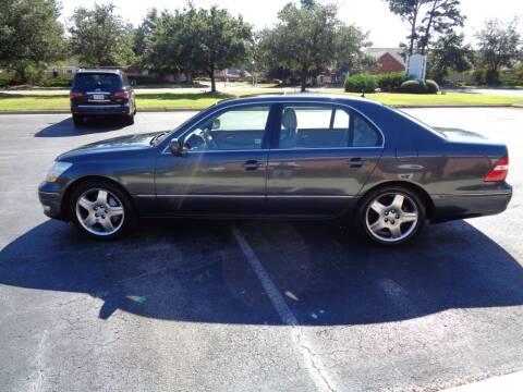 2005 Lexus LS 430 for sale at BALKCUM AUTO INC in Wilmington NC