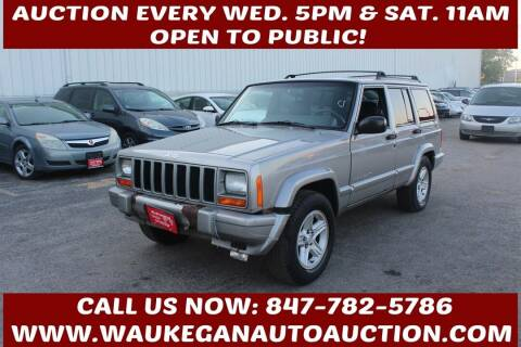 2001 Jeep Cherokee for sale at Waukegan Auto Auction in Waukegan IL