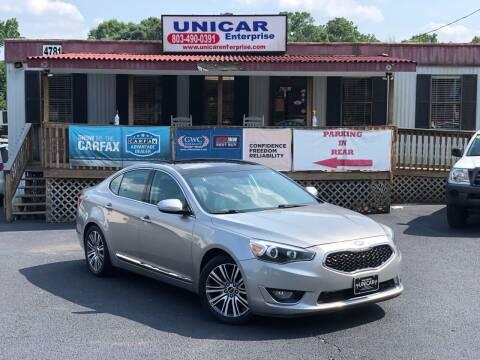2014 Kia Cadenza for sale at Unicar Enterprise in Lexington SC