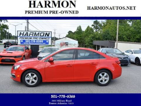 2015 Chevrolet Cruze for sale at Harmon Premium Pre-Owned in Benton AR