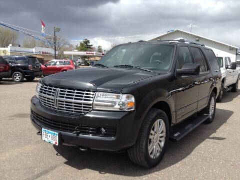2010 Lincoln Navigator for sale at Steves Auto Sales in Cambridge MN