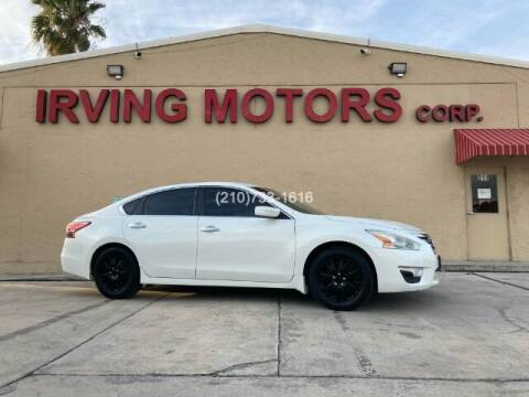 2013 Nissan Altima for sale at Irving Motors Corp in San Antonio TX