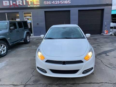 2015 Dodge Dart for sale at Bi-Rite Auto Sales in Clinton Township MI