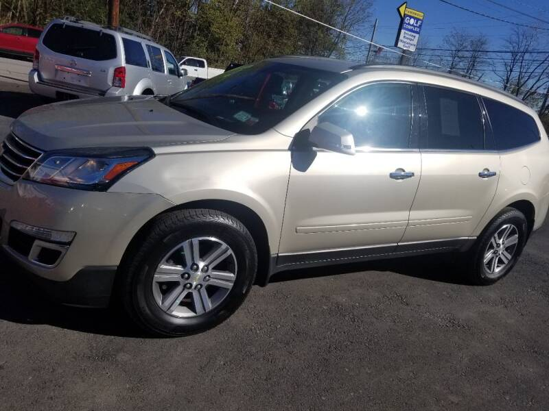 2015 Chevrolet Traverse for sale at GMG AUTO SALES in Scranton PA