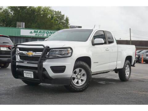 2015 Chevrolet Colorado for sale at Maroney Auto Sales in Humble TX