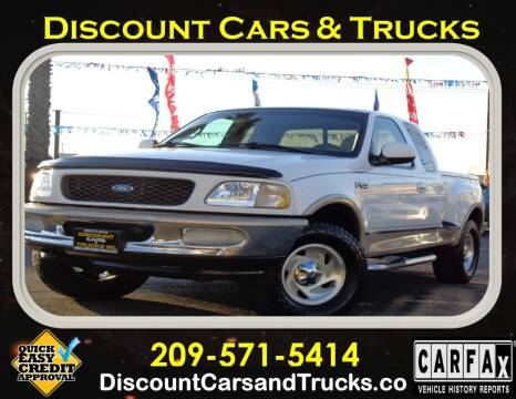 1997 Ford F-150 for sale at Discount Cars & Trucks in Modesto CA
