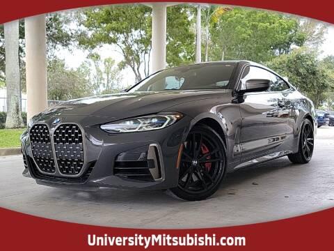 2021 BMW 4 Series for sale at FLORIDA DIESEL CENTER in Davie FL