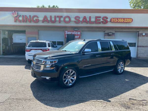 2015 Chevrolet Suburban for sale at KING AUTO SALES  II in Detroit MI