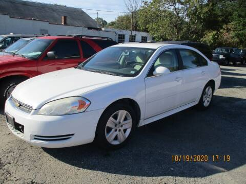 2011 Chevrolet Impala for sale at JMD Auto LLC in Taylorsville NC