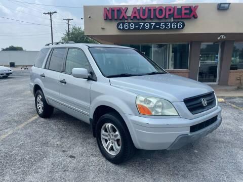 2003 Honda Pilot for sale at NTX Autoplex in Garland TX