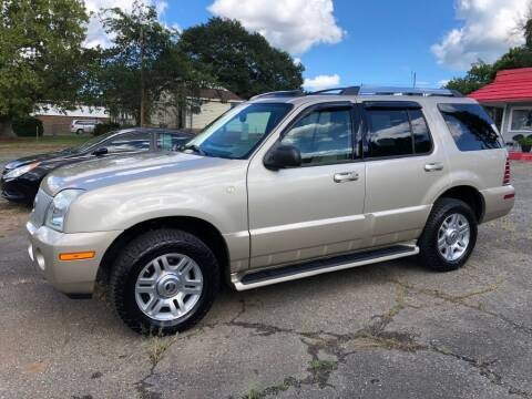 2005 Mercury Mountaineer for sale at Kelley's Cars Inc. in Belmont NC