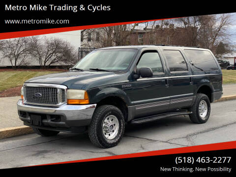 2001 Ford Excursion for sale at Metro Mike Trading & Cycles in Albany NY