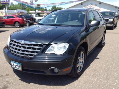 2008 Chrysler Pacifica for sale at Steves Auto Sales in Cambridge MN