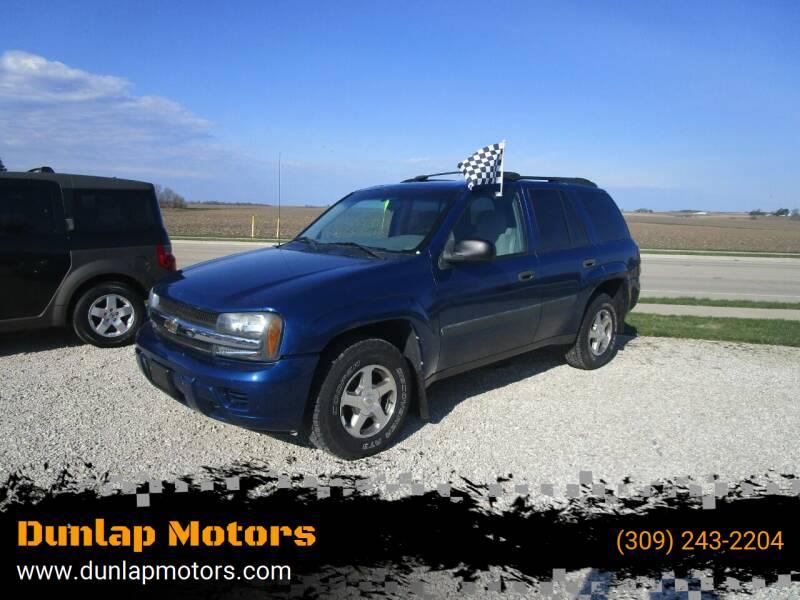 2005 Chevrolet TrailBlazer for sale at Dunlap Motors in Dunlap IL