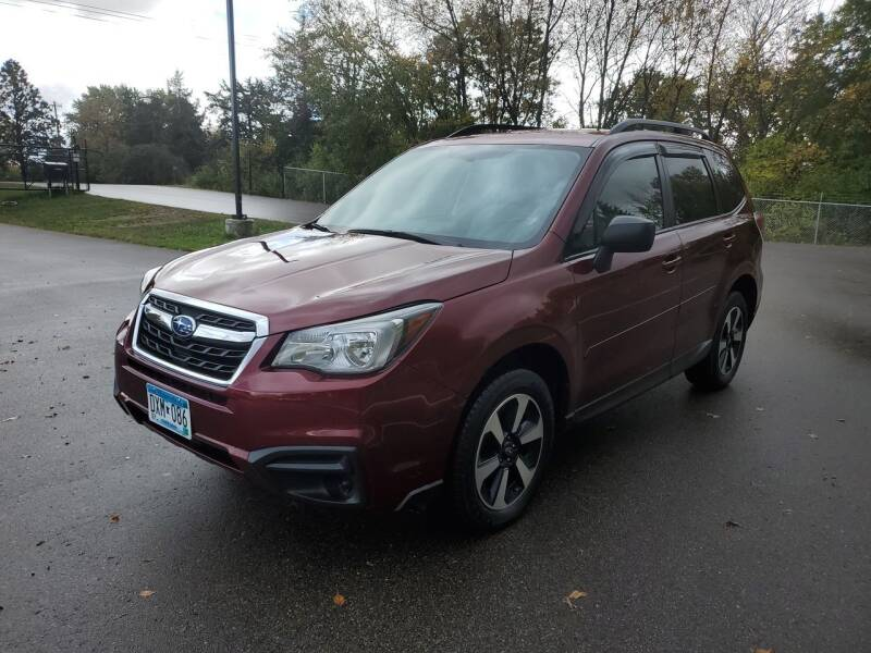 2017 Subaru Forester for sale at Ace Auto in Jordan MN