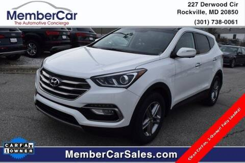 2018 Hyundai Santa Fe Sport for sale at MemberCar in Rockville MD