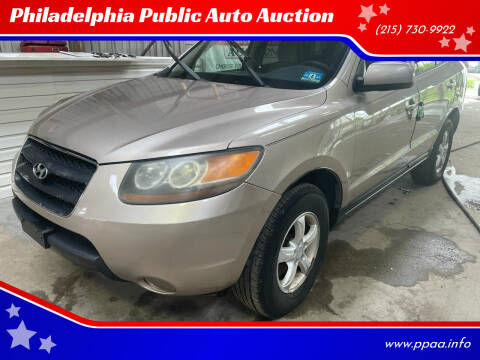 2007 Hyundai Santa Fe for sale at Philadelphia Public Auto Auction in Philadelphia PA