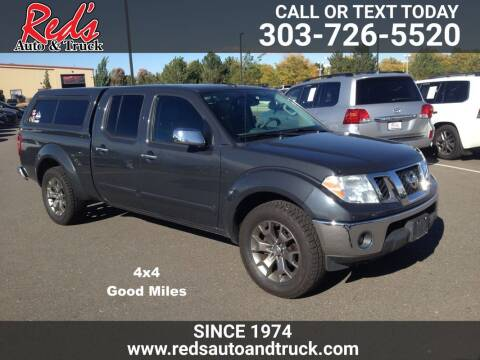 2014 Nissan Frontier for sale at Red's Auto and Truck in Longmont CO