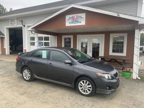 2009 Toyota Corolla for sale at M&A Auto in Newport VT