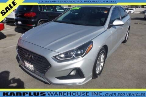 2018 Hyundai Sonata for sale at Karplus Warehouse in Pacoima CA