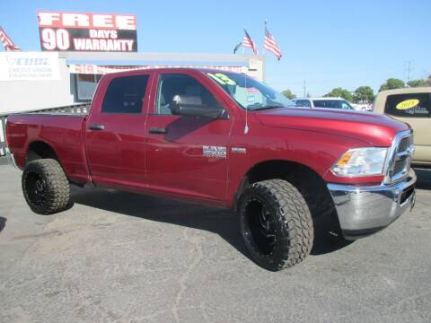 2013 RAM Ram Pickup 2500 for sale at Quick Auto Sales in Modesto CA