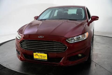 2016 Ford Fusion for sale at AUTOMAXX MAIN in Orem UT
