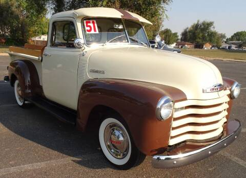 1951 Chevrolet 3100 for sale at VISTA AUTO SALES in Longmont CO