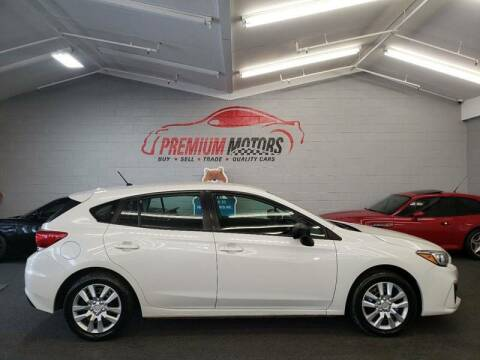 2017 Subaru Impreza for sale at Premium Motors in Villa Park IL