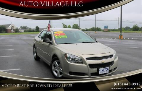 2010 Chevrolet Malibu for sale at AUTO VILLAGE LLC in Lebanon TN