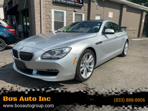 2014 BMW 6 Series for sale at Bos Auto Inc in Quincy MA