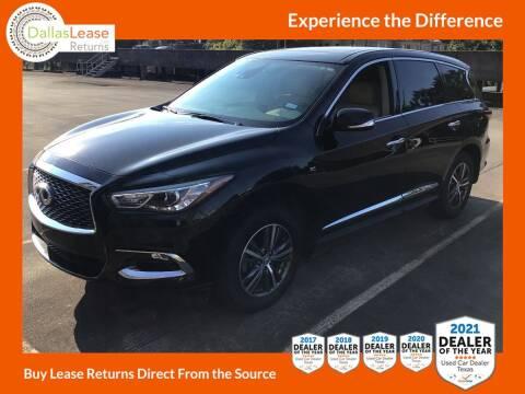 2019 Infiniti QX60 for sale at Dallas Auto Finance in Dallas TX