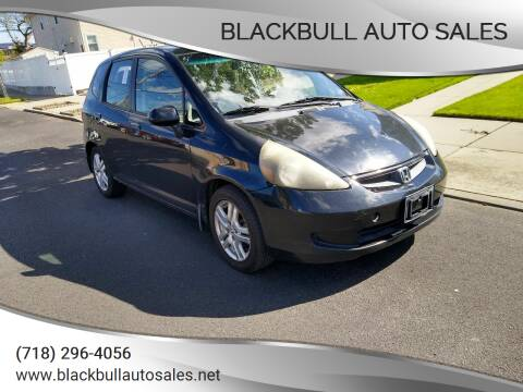 2007 Honda Fit for sale at Blackbull Auto Sales in Ozone Park NY