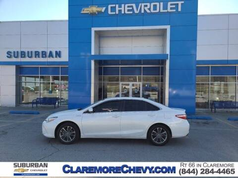 2015 Toyota Camry Hybrid for sale at Suburban Chevrolet in Claremore OK