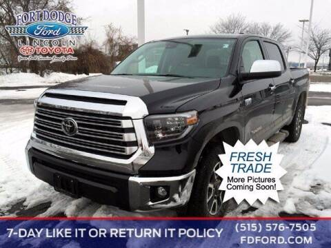 2020 Toyota Tundra for sale at Fort Dodge Ford Lincoln Toyota in Fort Dodge IA
