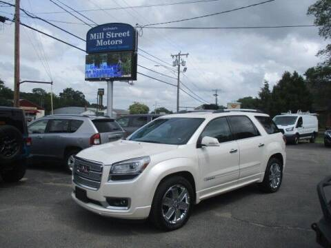 2014 GMC Acadia for sale at Mill Street Motors in Worcester MA