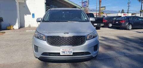 2016 Kia Sedona for sale at Auto Land in Ontario CA