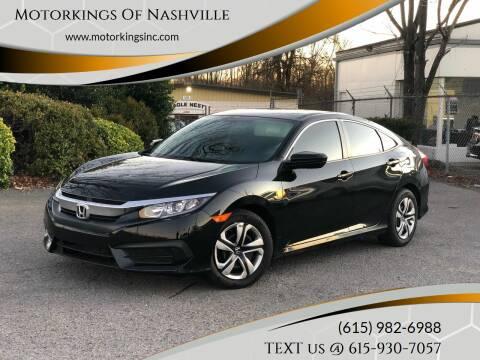 2017 Honda Civic for sale at Motorkings Of Nashville in Nashville TN