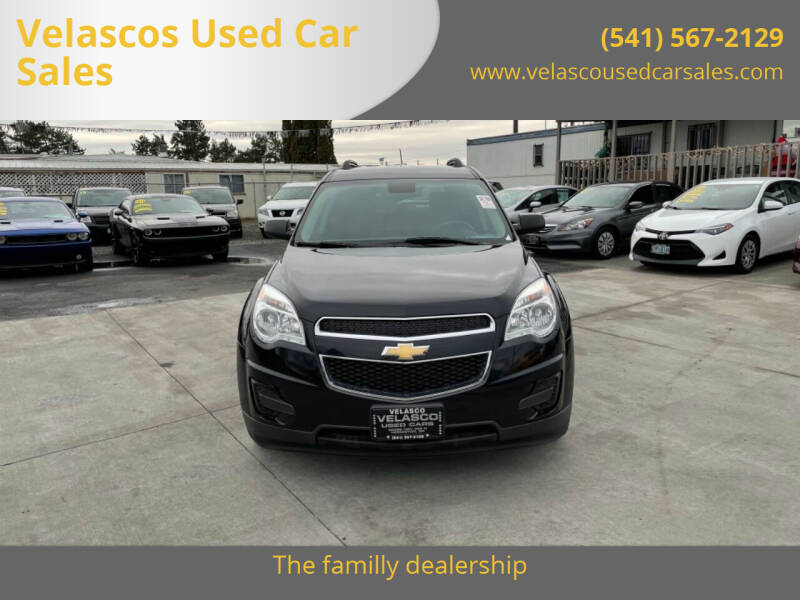 2015 Chevrolet Equinox for sale at Velascos Used Car Sales in Hermiston OR