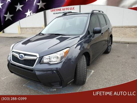 2015 Subaru Forester for sale at Lifetime Auto LLC in Commerce City CO