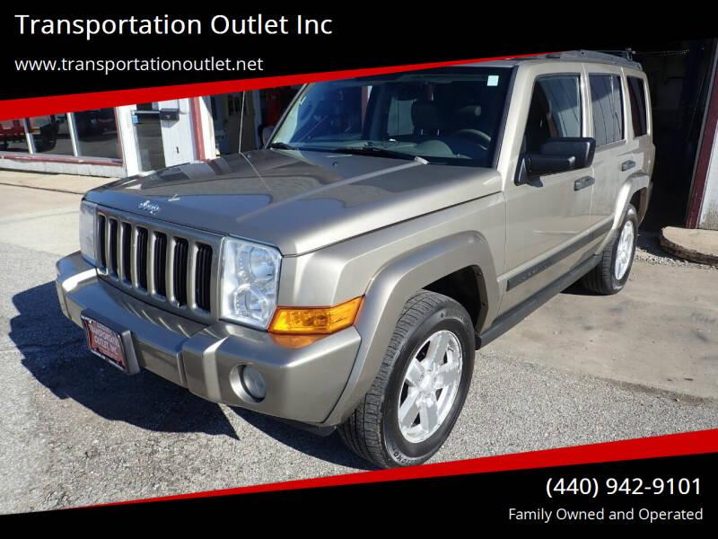 2006 Jeep Commander for sale at Transportation Outlet Inc in Eastlake OH