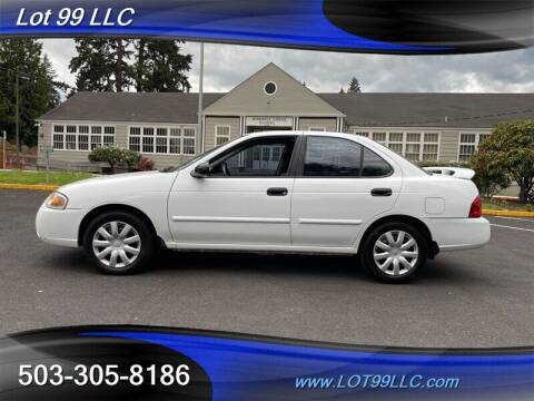 2004 Nissan Sentra for sale at LOT 99 LLC in Milwaukie OR