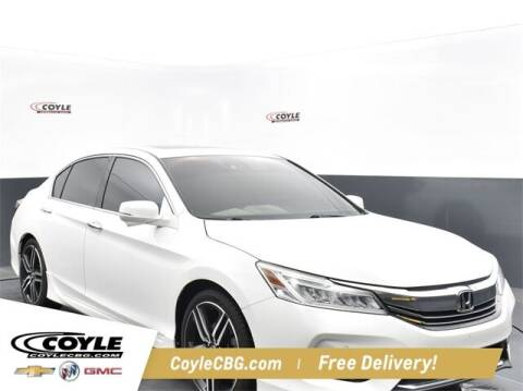 2017 Honda Accord for sale at COYLE GM - COYLE NISSAN - New Inventory in Clarksville IN