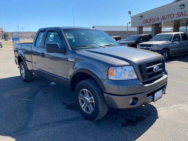 2008 Ford F-150 for sale at Osceola Auto Sales and Service in Osceola WI