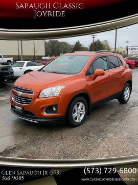 2015 Chevrolet Trax for sale at Sapaugh Classic Joyride in Salem MO