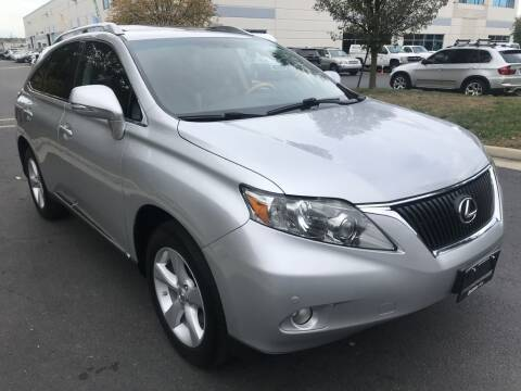 2012 Lexus RX 350 for sale at Dotcom Auto in Chantilly VA